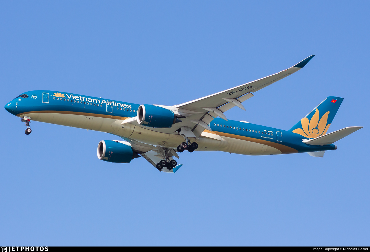 VN-A898 - Airbus A350-941 - Vietnam Airlines