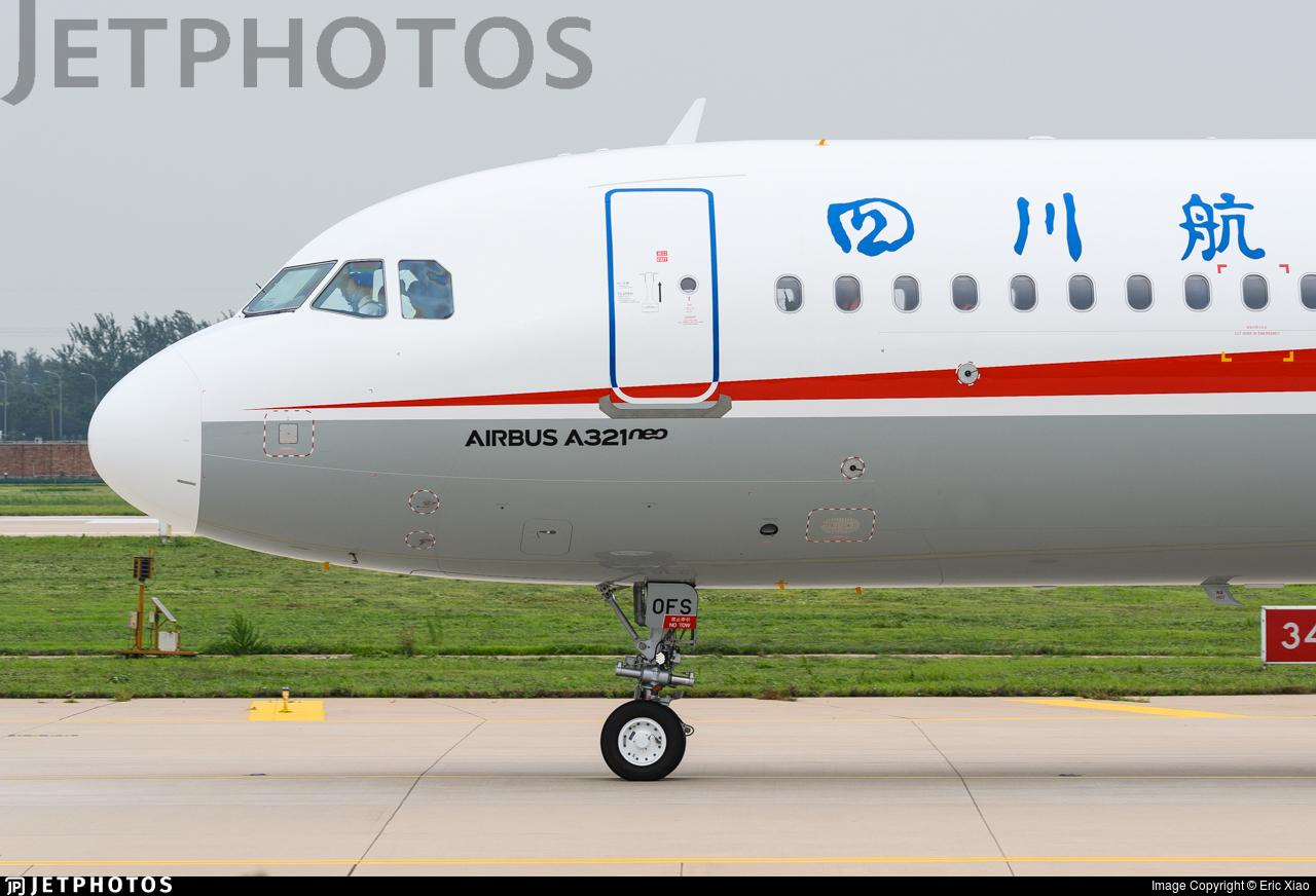 B-30FS - Airbus A321-271N - Sichuan Airlines