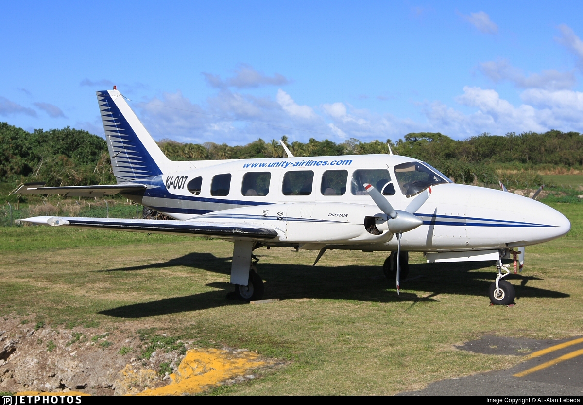 YJ-007 - Piper PA-31-350 Navajo Chieftain - Unity Airlines