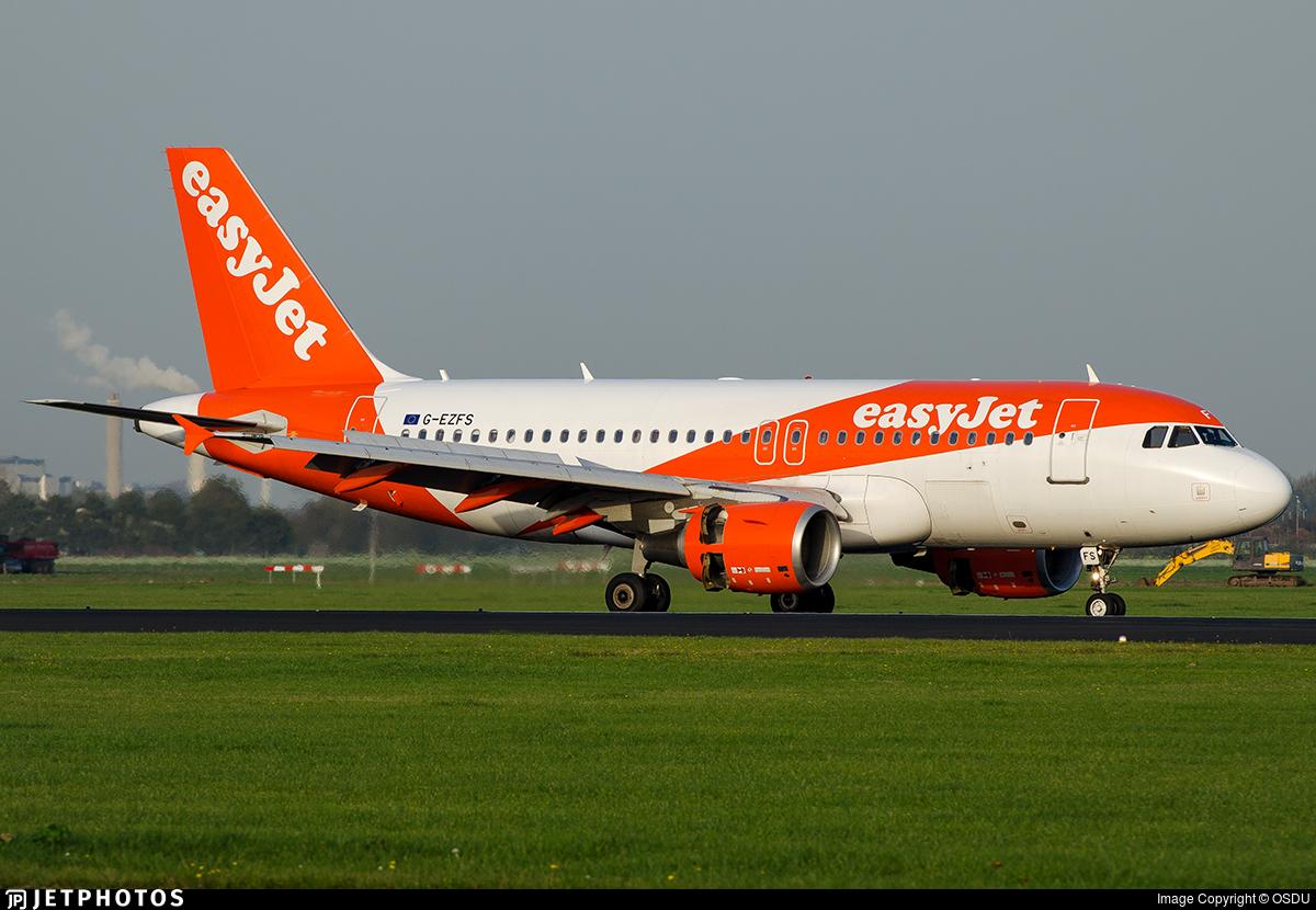 G-EZFS - Airbus A319-111 - easyJet
