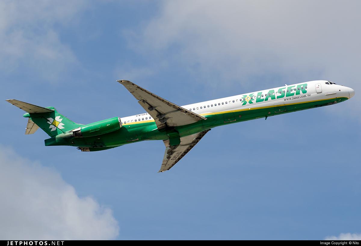 YV1243 - McDonnell Douglas MD-81 - Laser Airlines