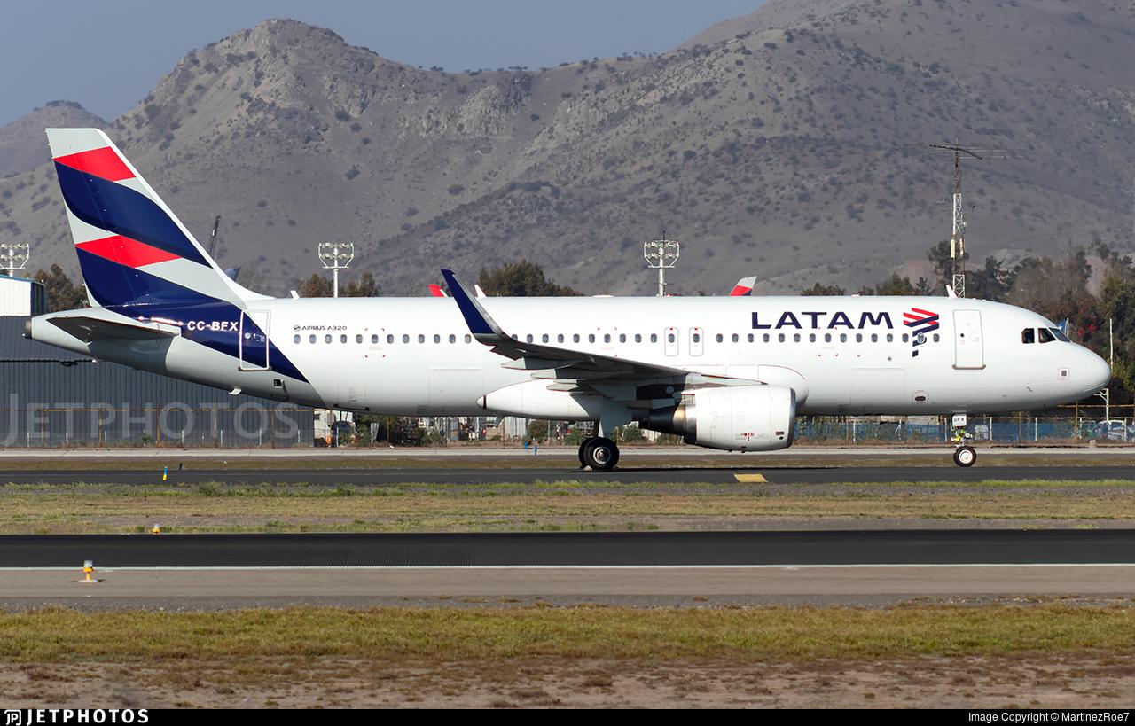 CC-BFX - Airbus A320-214 - LATAM Airlines