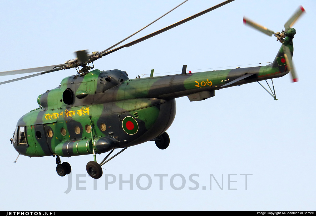 206 - Mil Mi-17 Hip - Bangladesh - Air Force