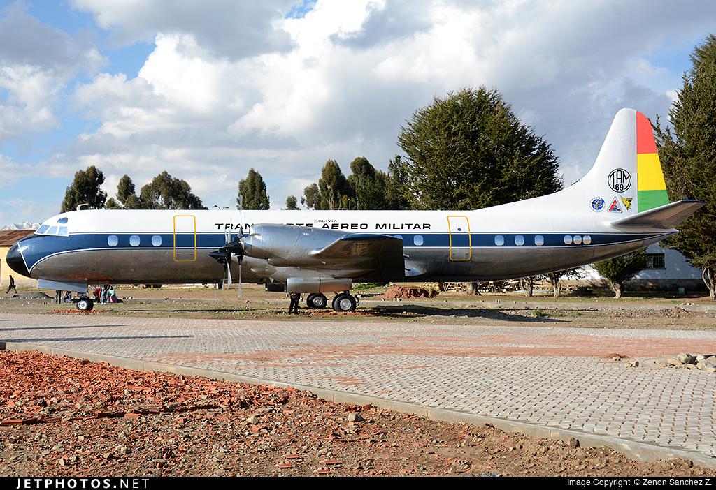 TAM-69 - Lockheed L-188A Electra - TAM - Transporte Aéreo Militar