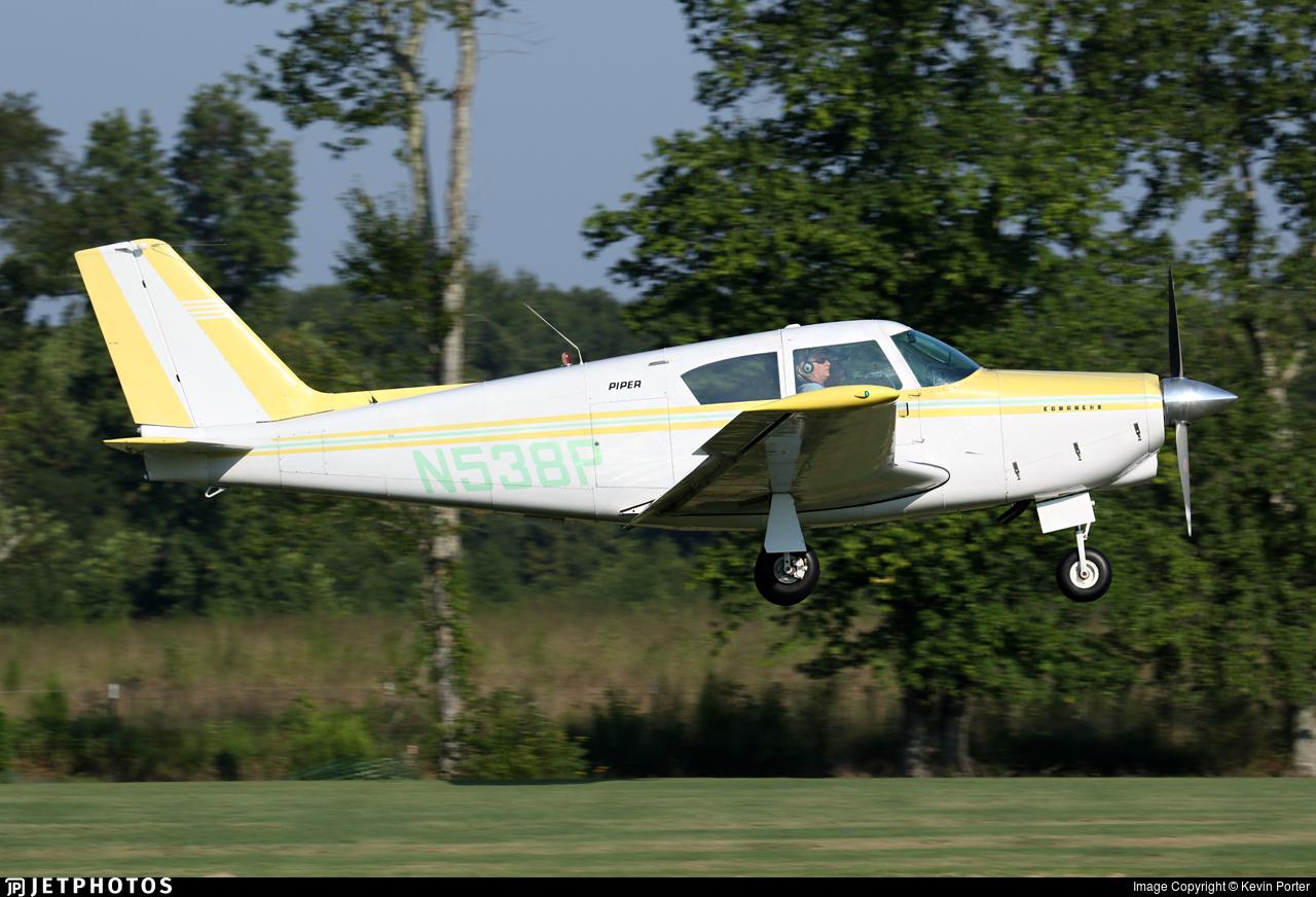 N538P - Piper PA-24-180 Comanche - Private