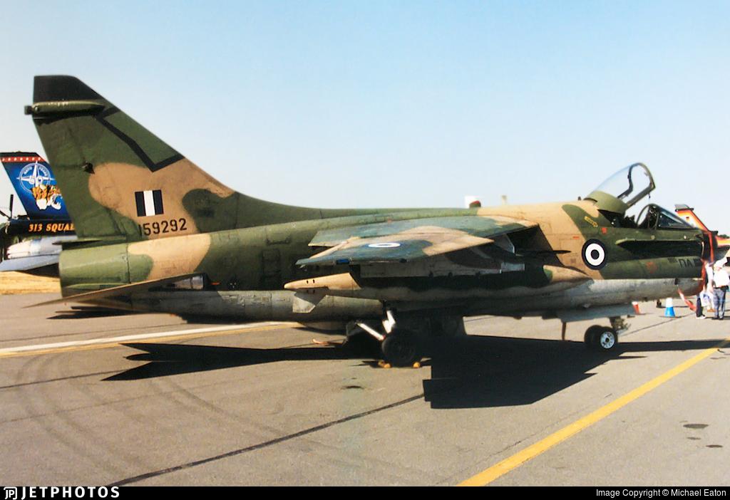 159292 - LTV A-7E Corsair II - Greece - Air Force