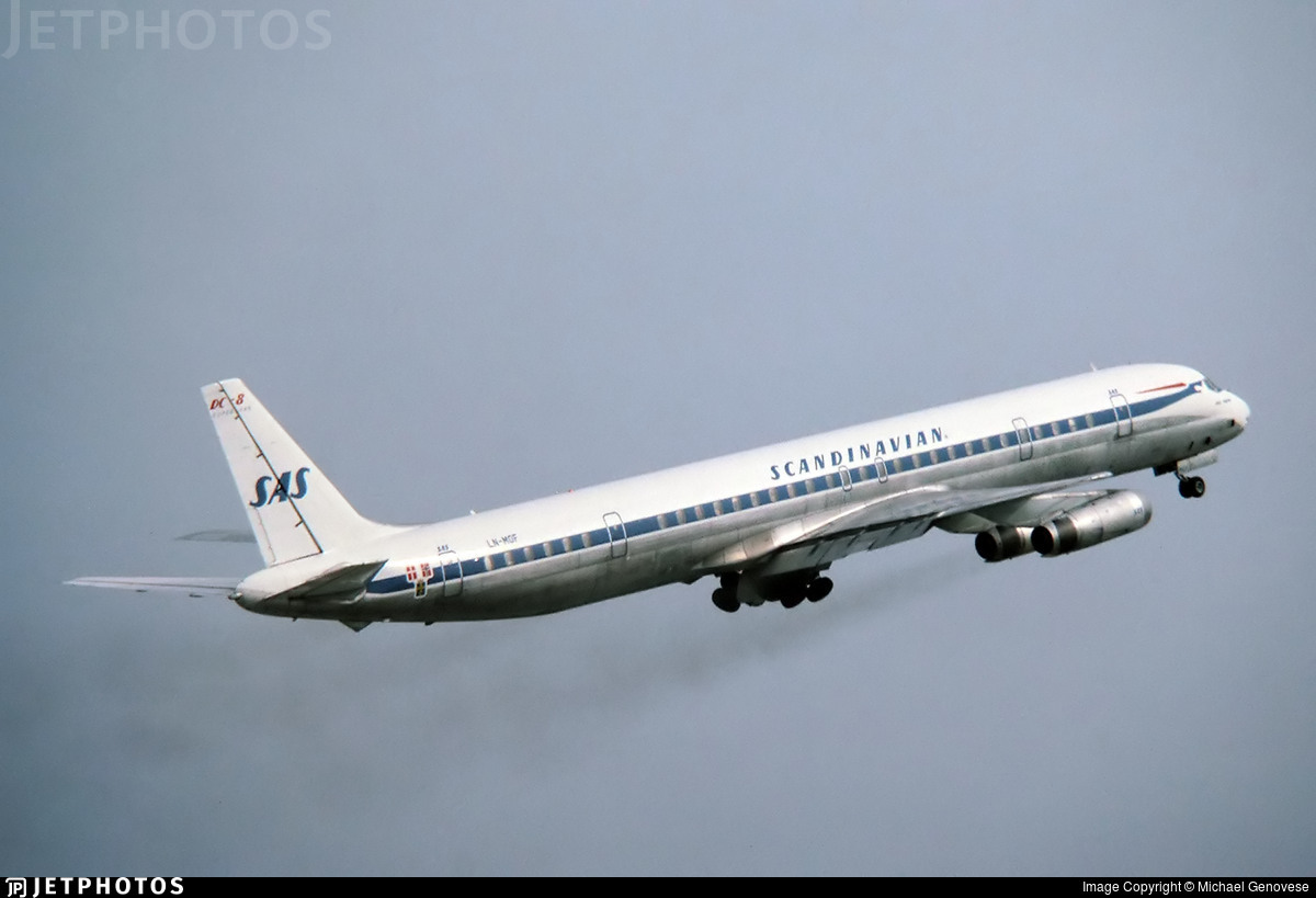 LN-MOF - Douglas DC-8-63(PF) - Scandinavian Airlines (SAS)