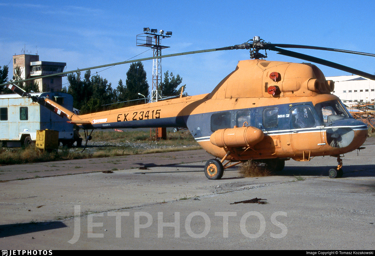 EX-23415 - PZL-Swidnik Mi-2 Hoplite - Kyrgyzstan Airlines