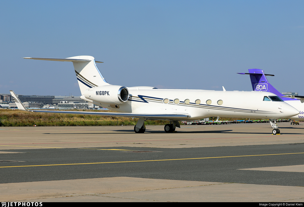 N168PK - Gulfstream G-IV - Private