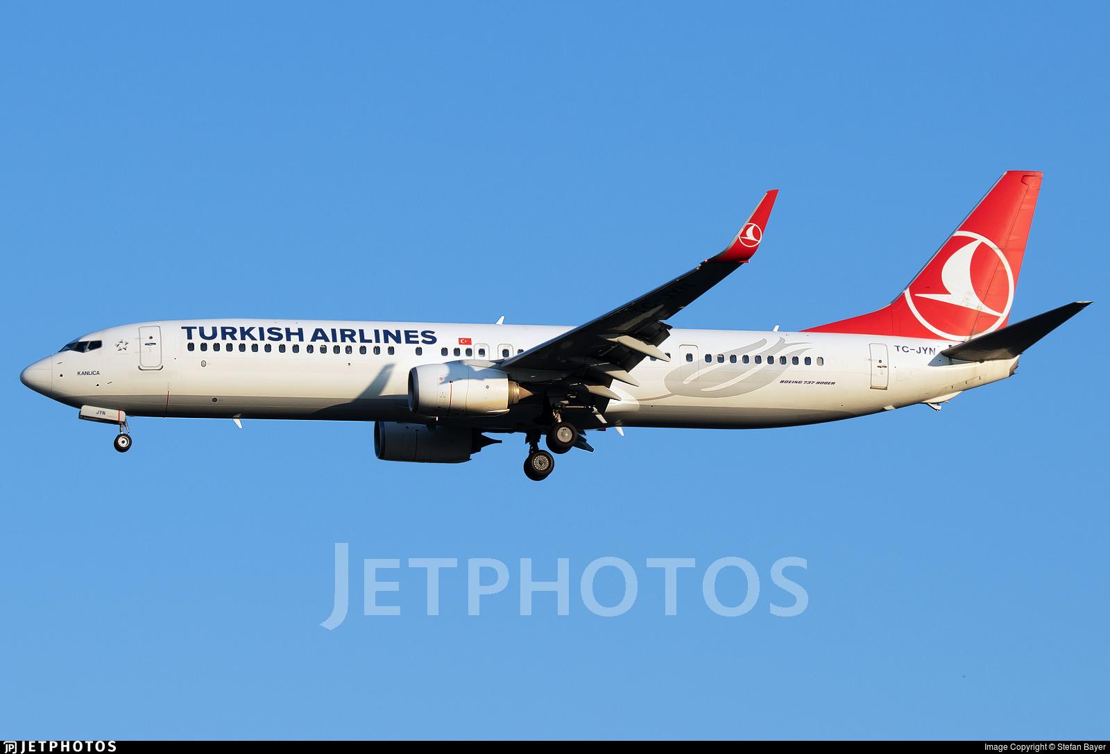 TC-JYN - Boeing 737-9F2ER - Turkish Airlines