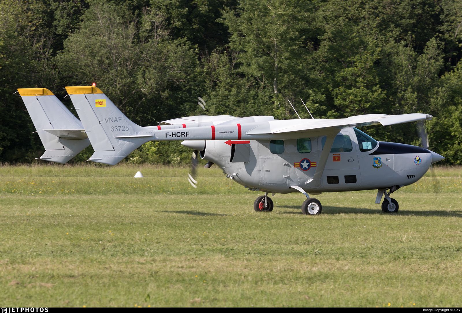 F-HCRF | Reims-Cessna F337G Super Skymaster | Private | Alex | JetPhotos