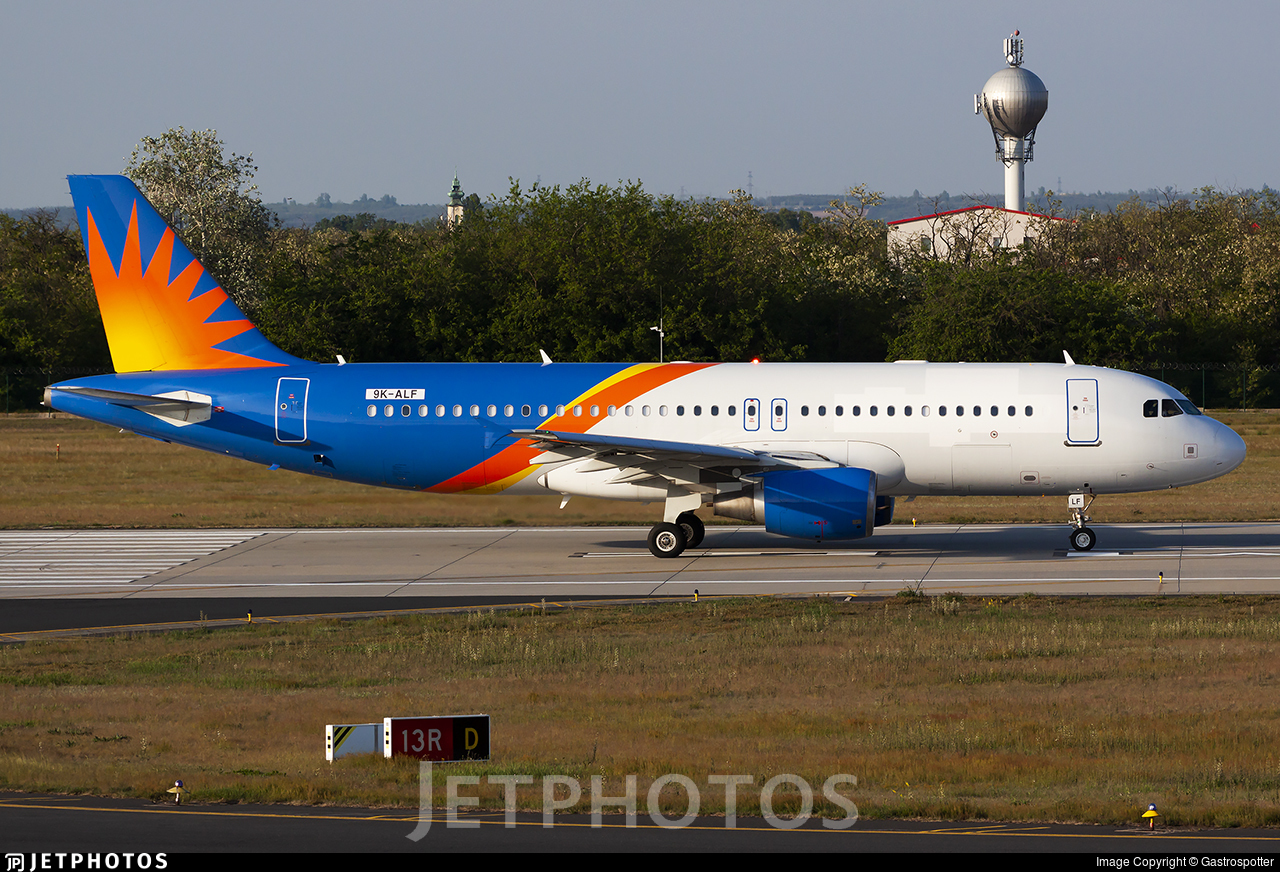 9K-ALF - Airbus A320-214 - Untitled
