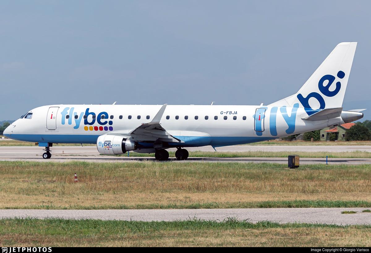 G-FBJA - Embraer 170-200STD - Flybe