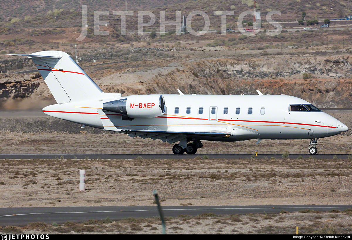 M-BAEP - Bombardier CL-600-2B16 Challenger 605 - Private
