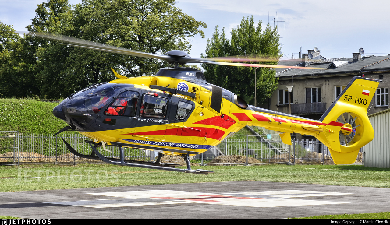 SP-HXO - Eurocopter EC 135P2i - Lotnicze Pogotowie Ratunkowe