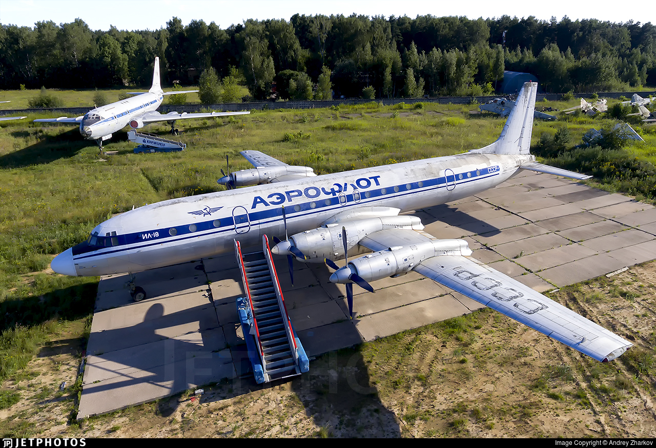 CCCP-75737 - Ilyushin IL-18 - Aeroflot