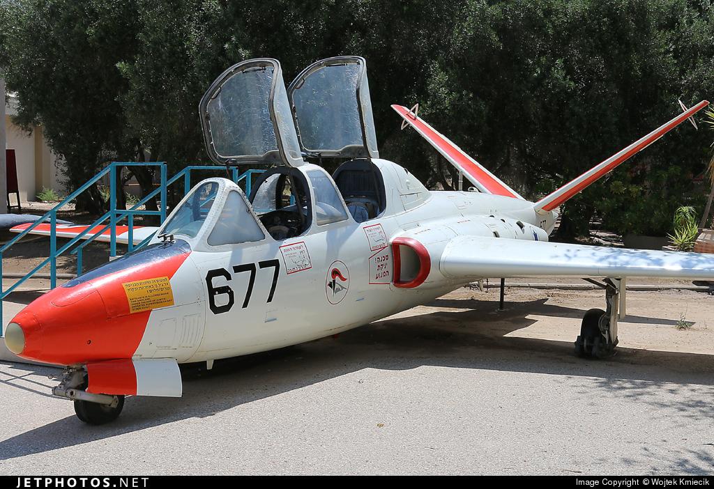 677 - Fouga CM-170 Tzukit - Israel - Air Force