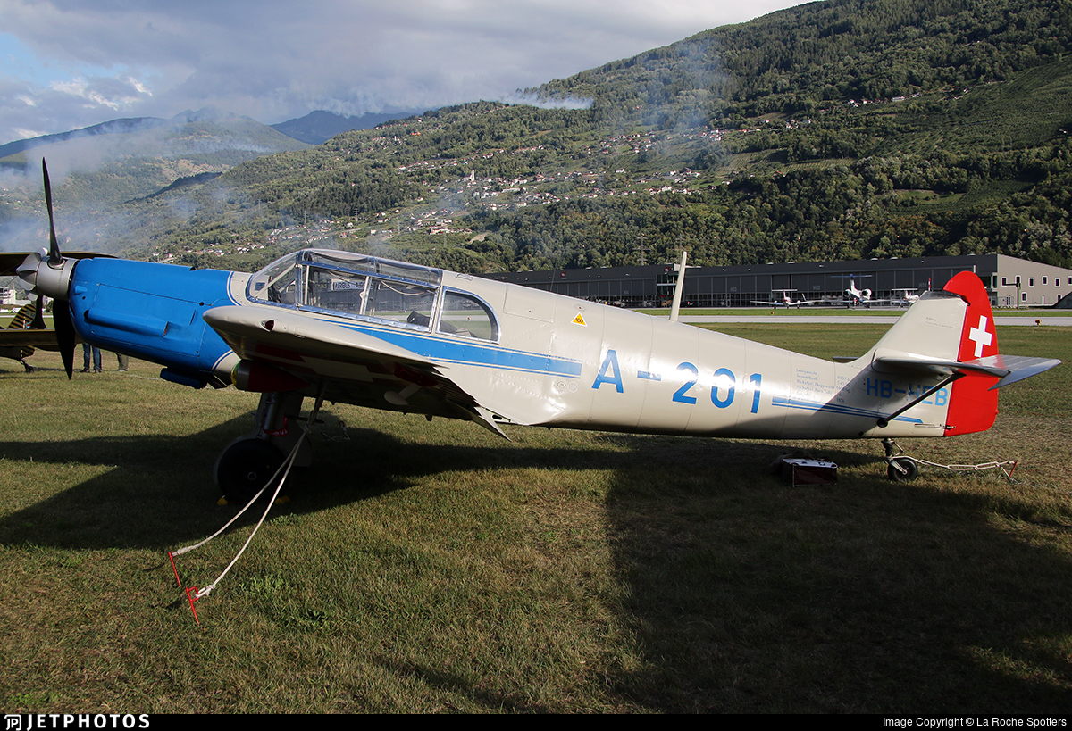 HB-HEB - Messerschmitt Bf 108 Taifun - Private