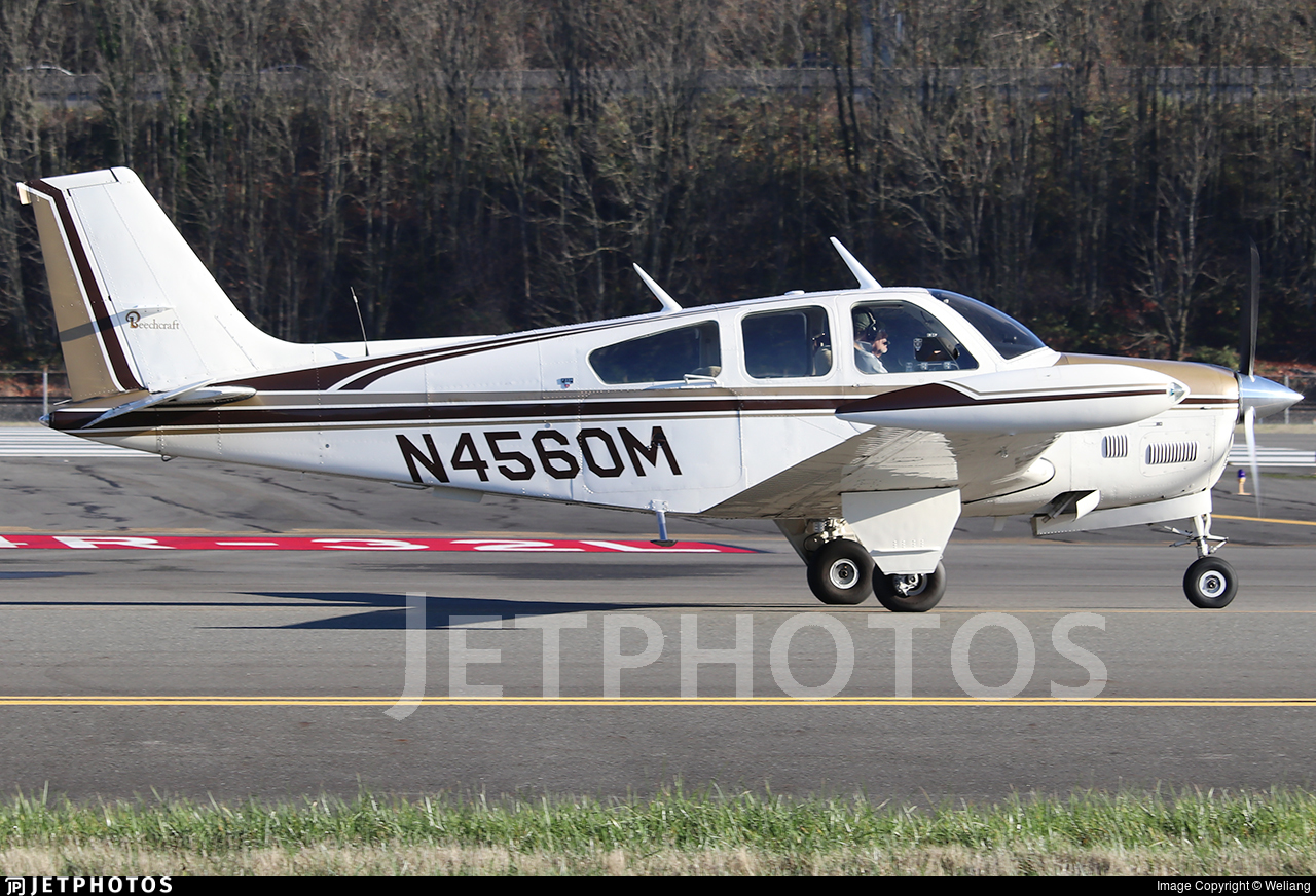 N4560M - Beechcraft F33A Bonanza - Private