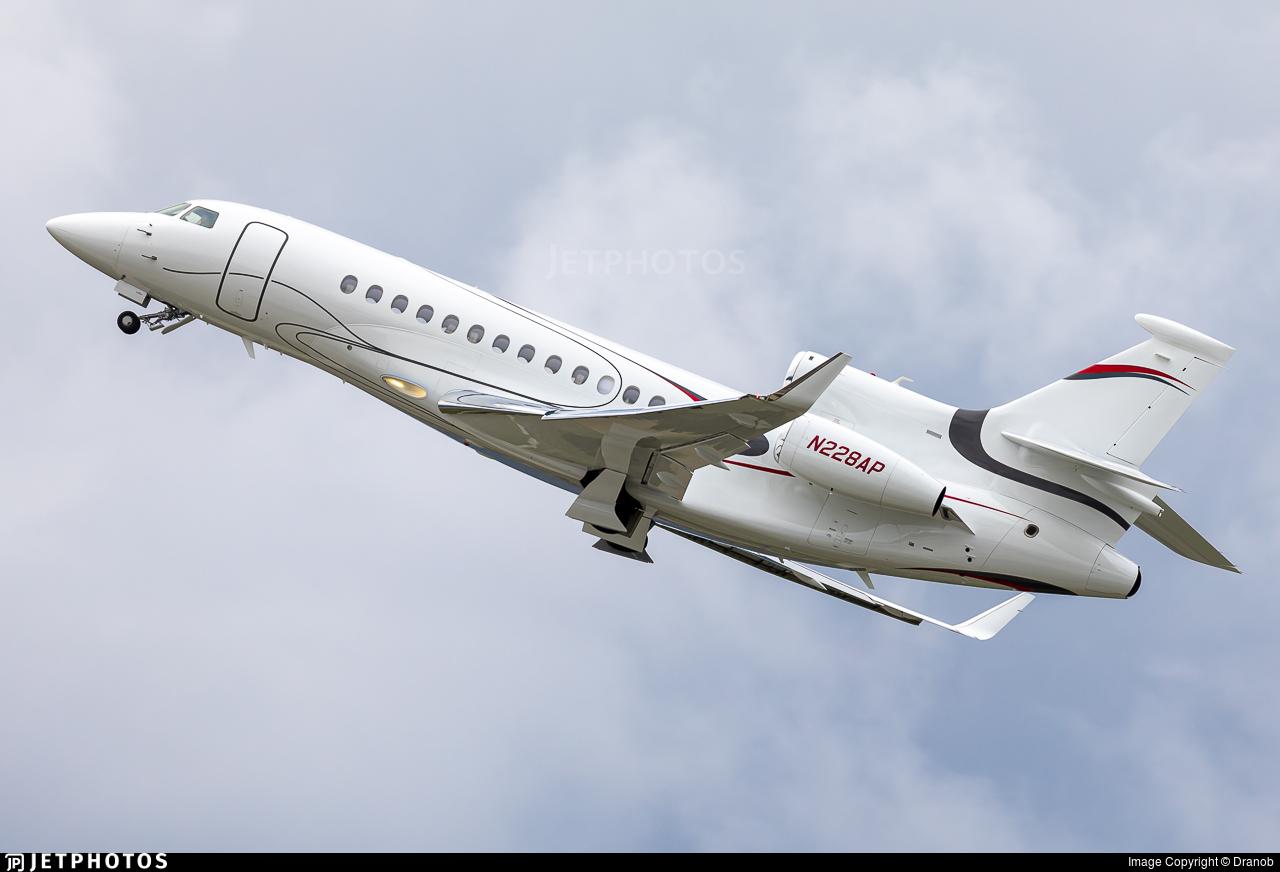 N228AP - Dassault Falcon 7X - Private