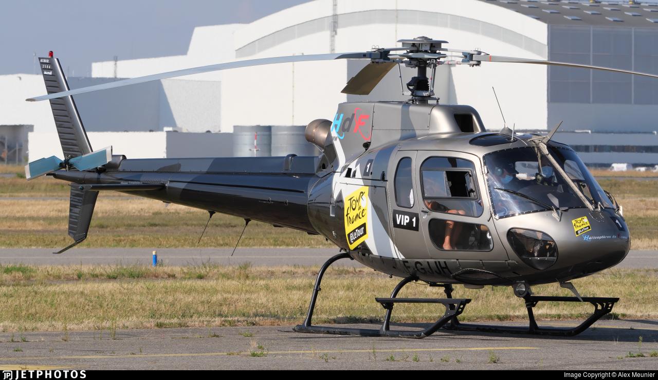 F-GJJH - Aérospatiale AS 350B2 Ecureuil - Hélicoptères de France (HDF)