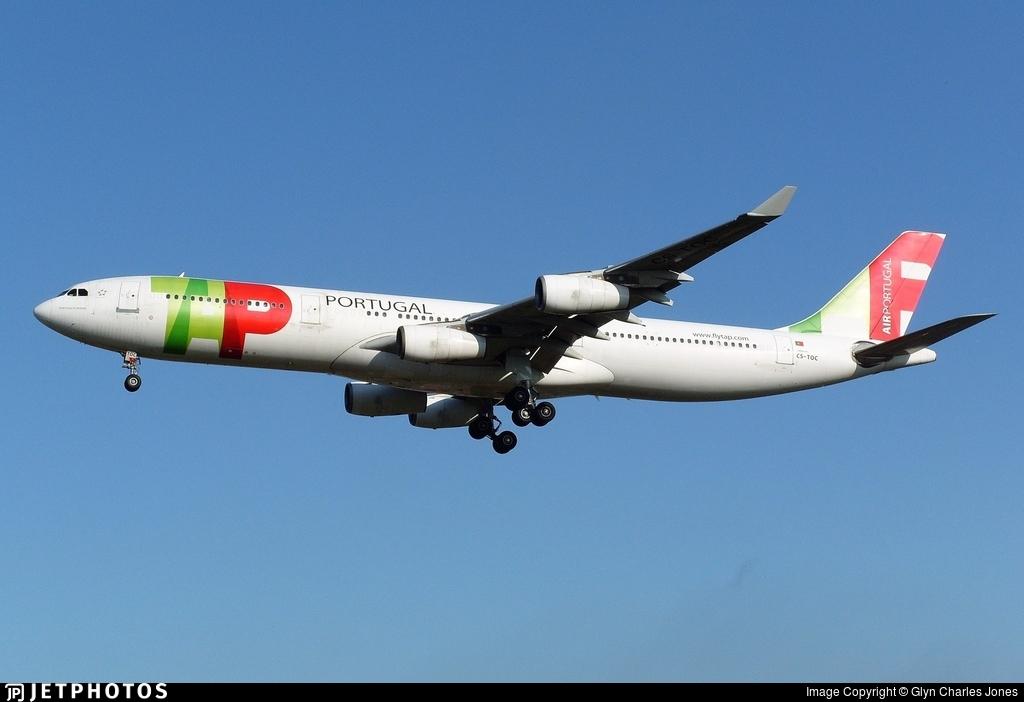 CS-TOC - Airbus A340-312 - TAP Air Portugal