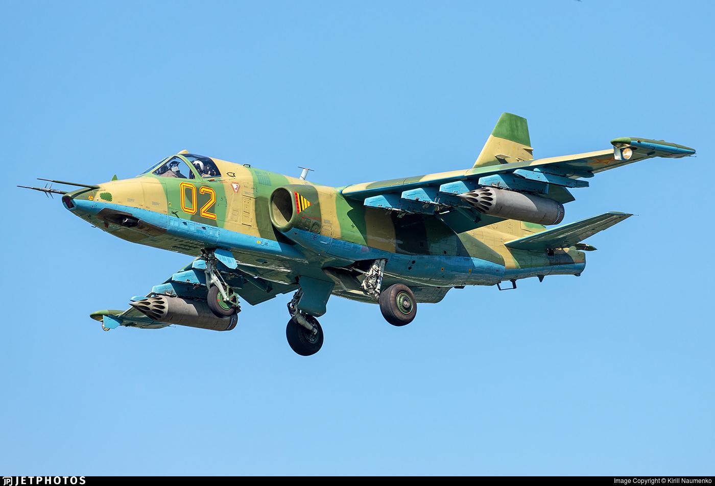 02 - Sukhoi Su-25 Frogfoot - Kazakhstan - Air Force