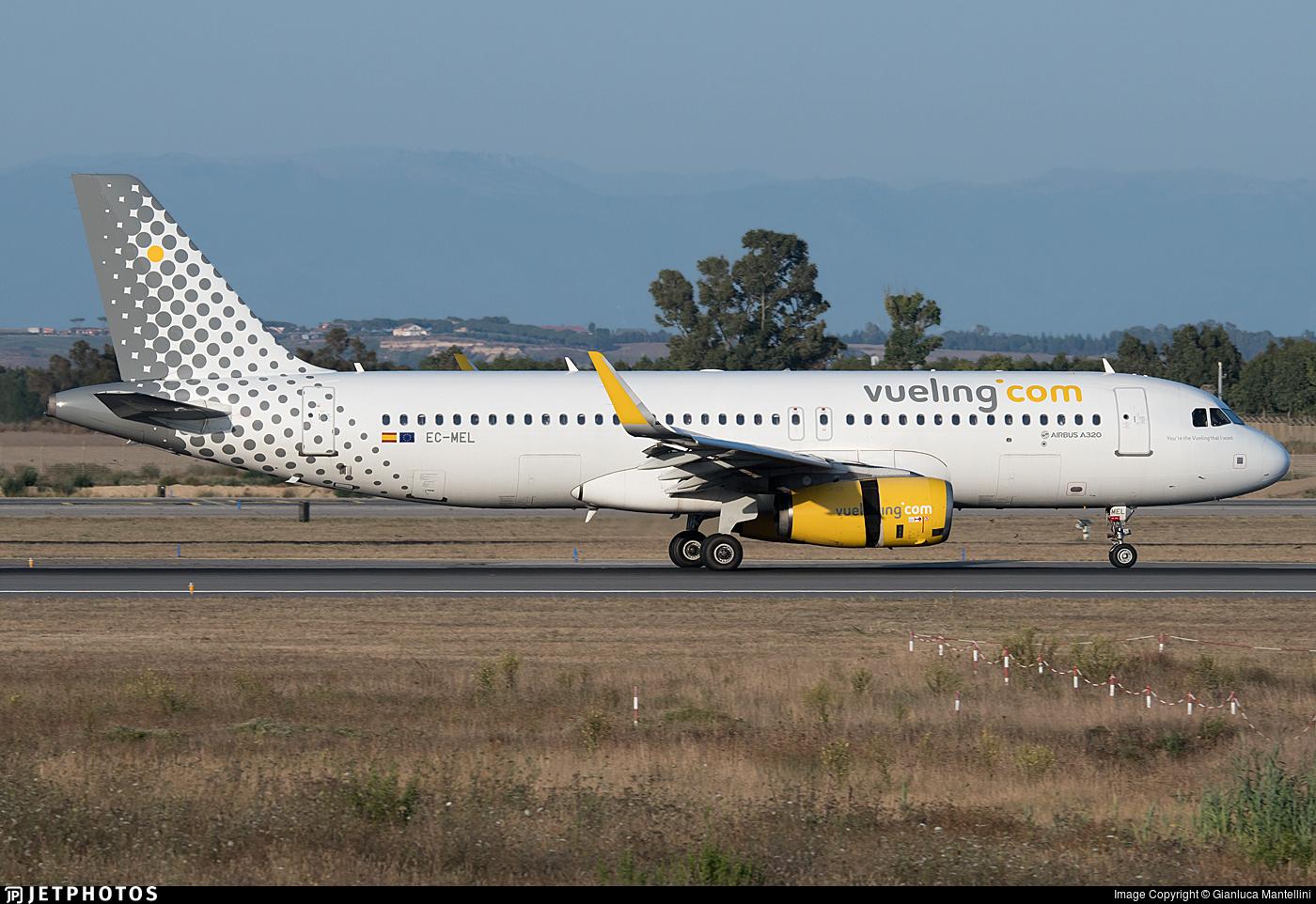EC-MEL - Airbus A320-232 - Vueling