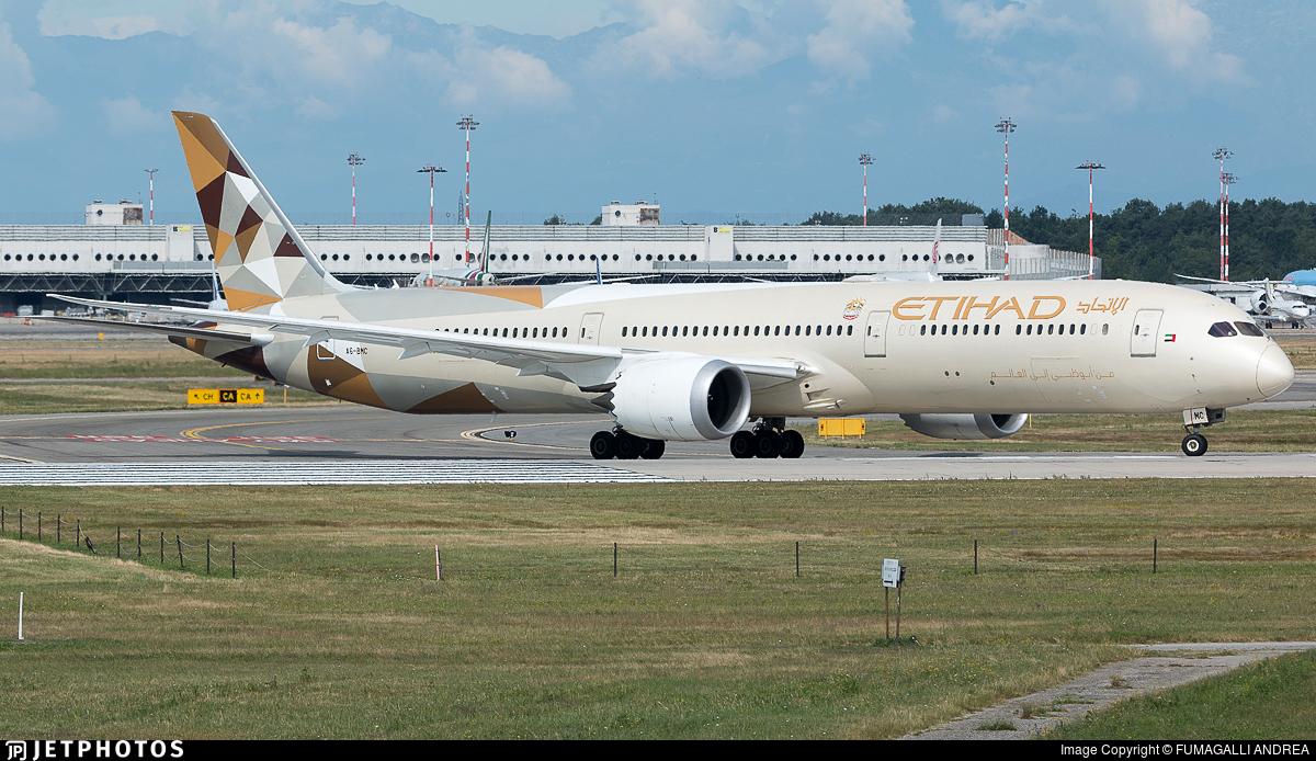 A6-BMC - Boeing 787-10 Dreamliner - Etihad Airways