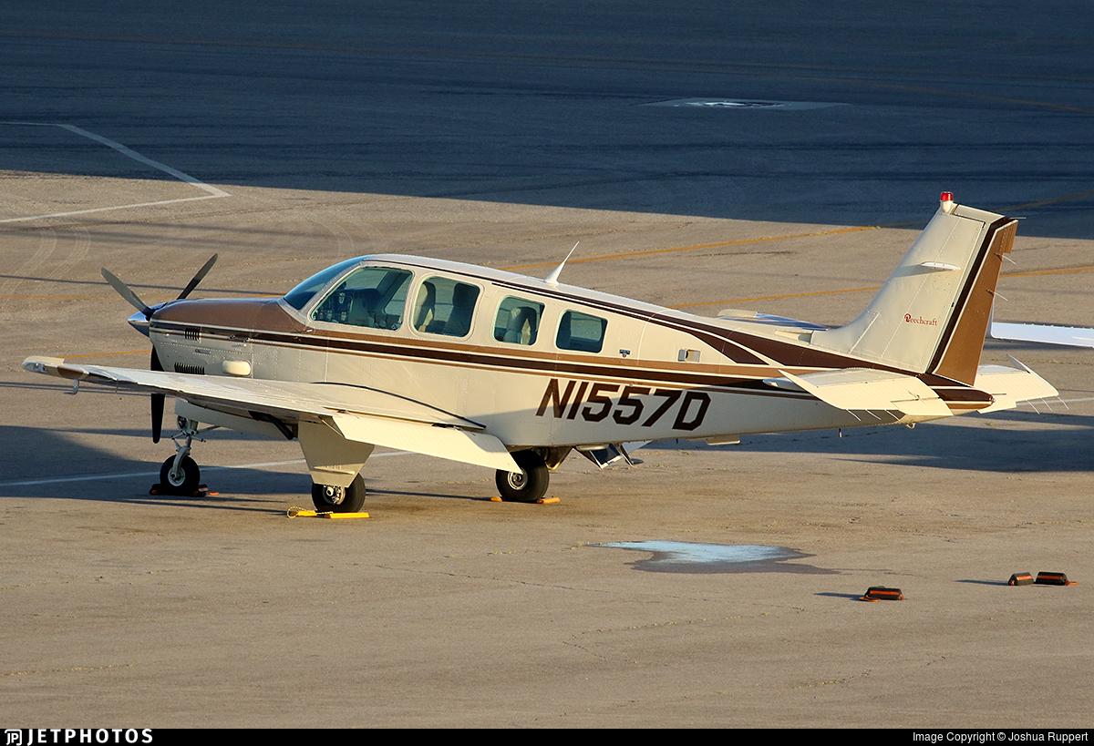 N1557D - Beechcraft B36TC Bonanza - Private