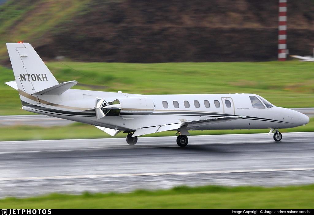 N70KH - Cessna 560 Citation V - Private