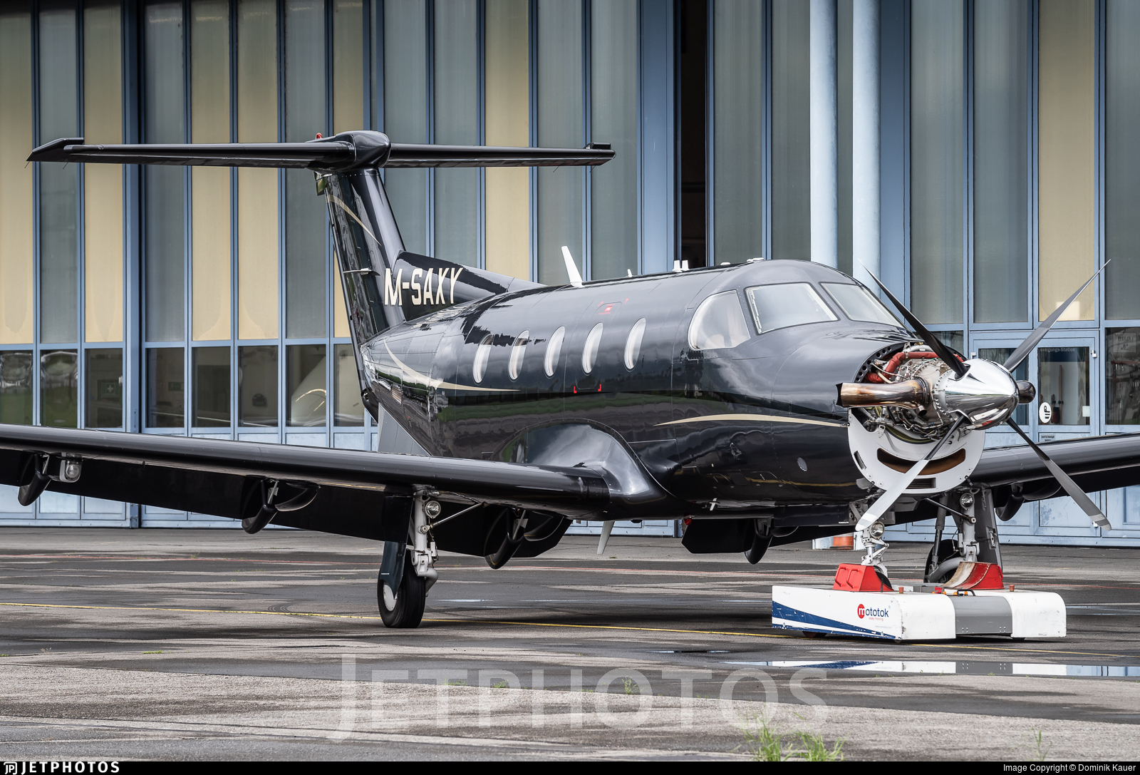 M-SAXY - Pilatus PC-12/45 - Private