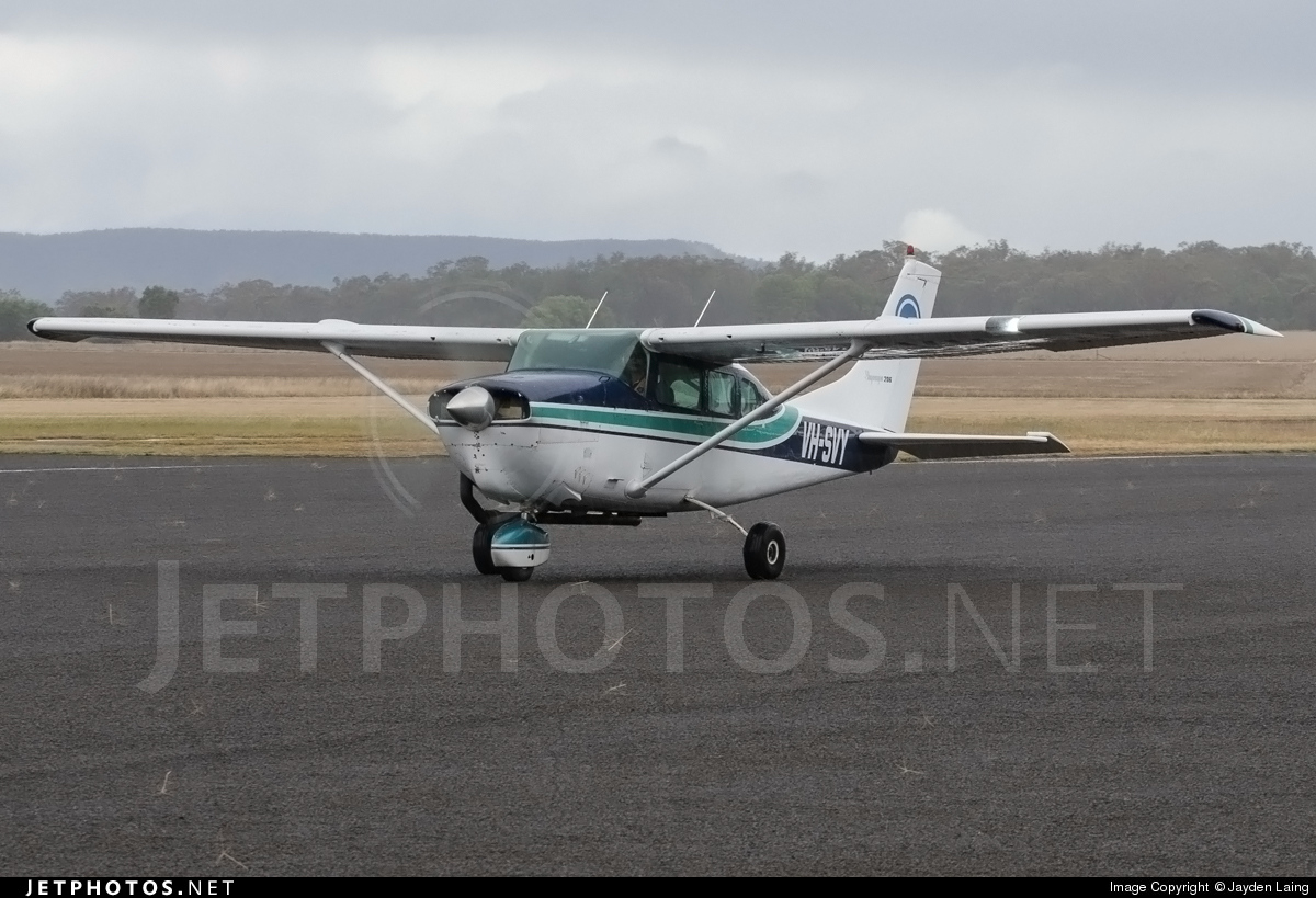 VH-SVY - Cessna 206 Super Skywagon - Private