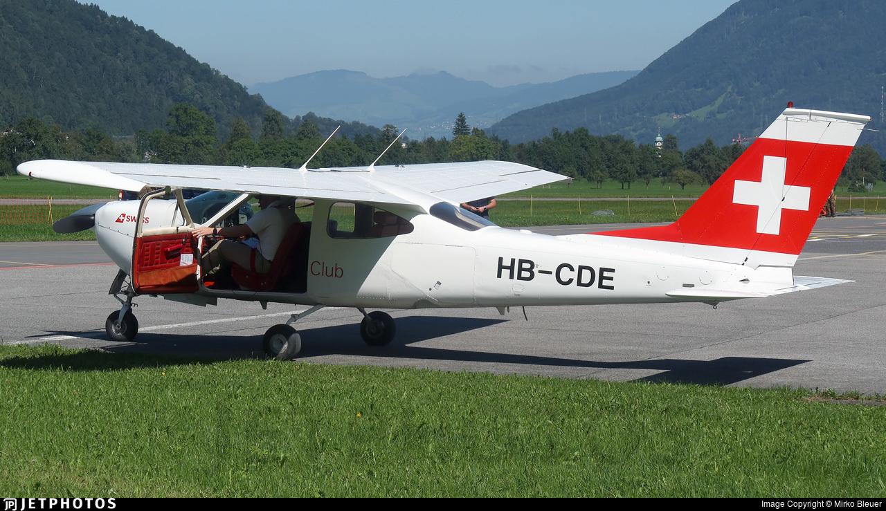 HB-CDE - Reims-Cessna F177RG Cardinal RG - Swiss Flying Club