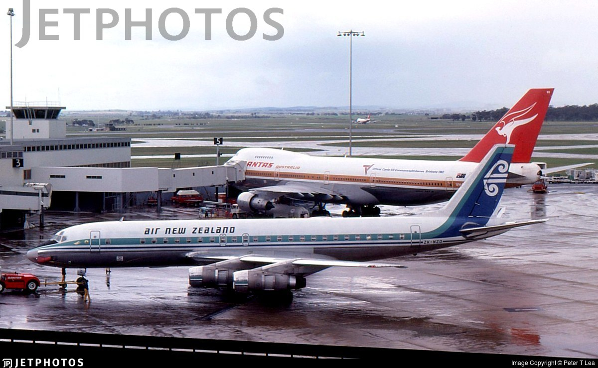 ZK-NZD - Douglas DC-8-54 - Air New Zealand