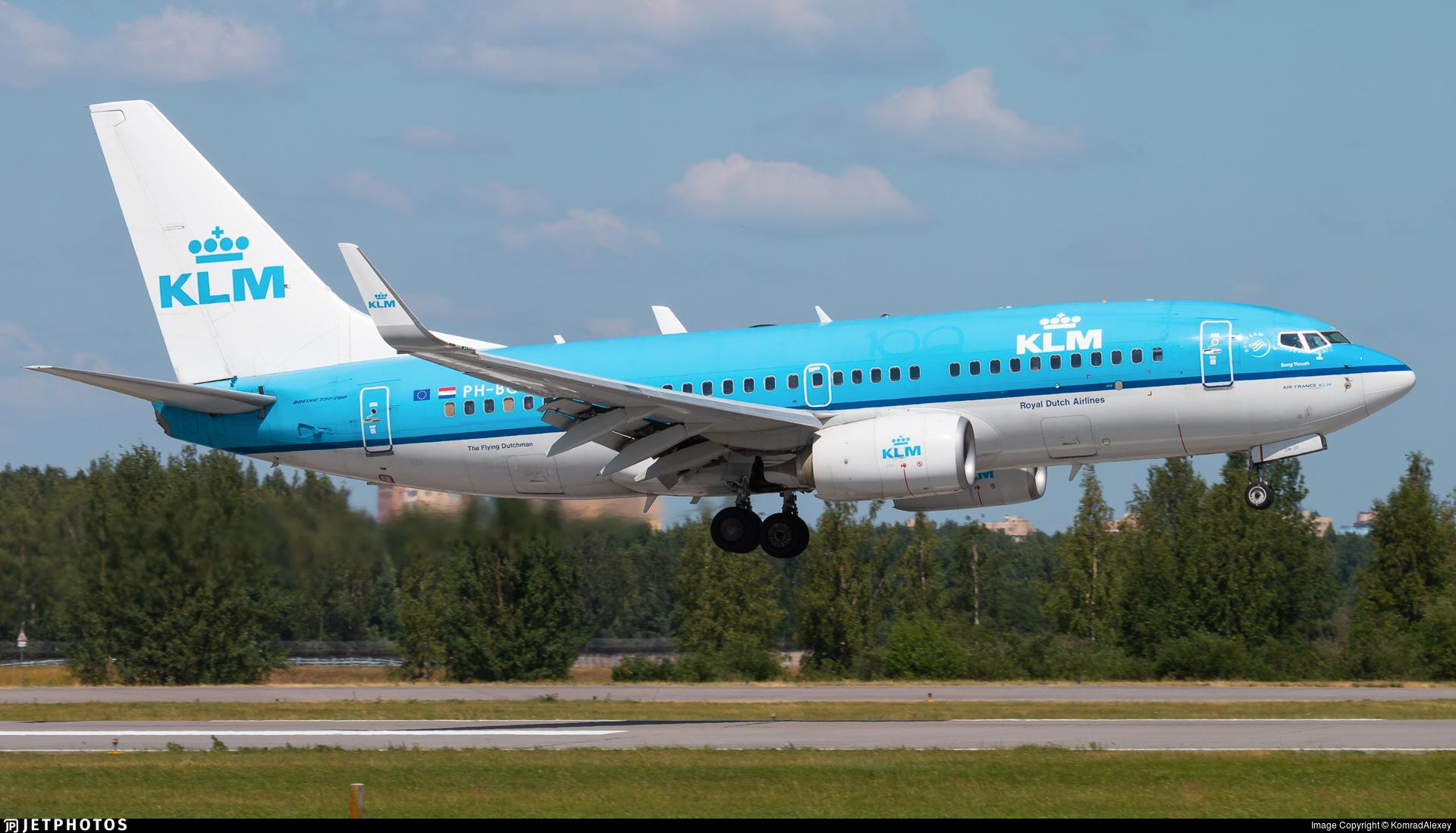 PH-BGW - Boeing 737-7K2 - KLM Royal Dutch Airlines