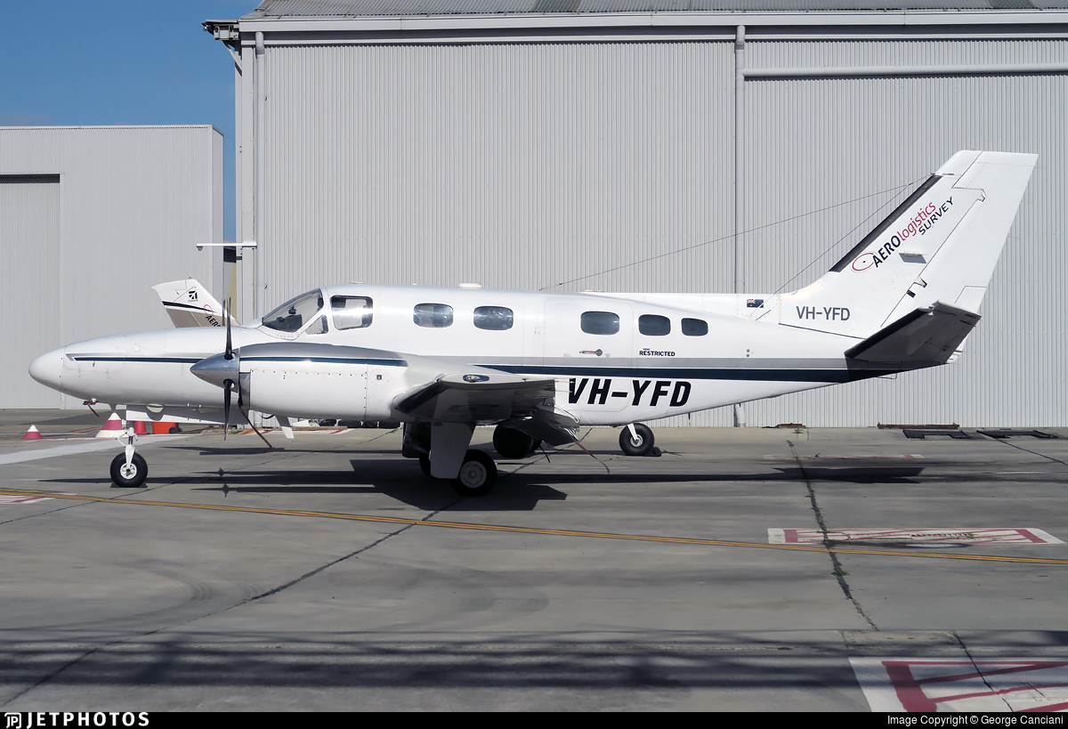 VH-YFD - Cessna 441 Conquest II - Aero Logistics