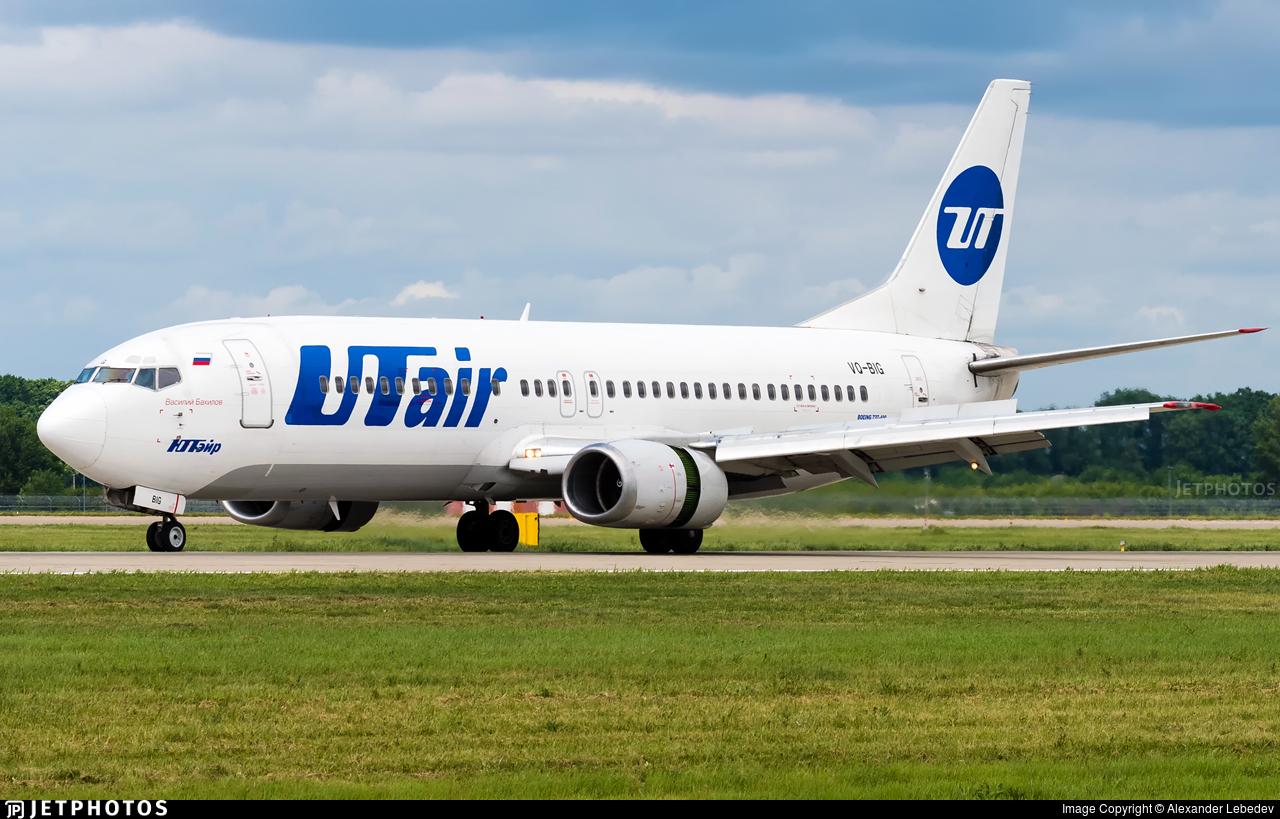 VQ-BIG - Boeing 737-45S - UTair Aviation