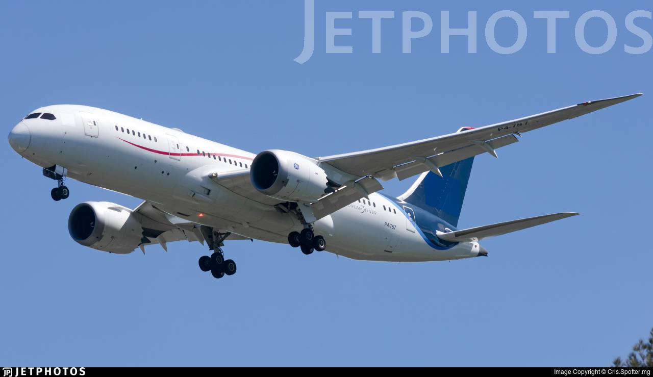 P4-787 - Boeing 787-8 Dreamliner - Comlux Aruba