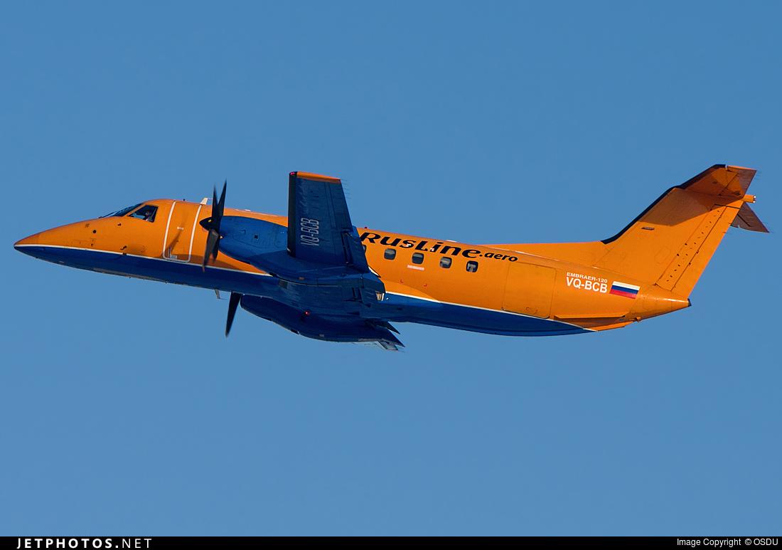 VQ-BCB - Embraer EMB-120ER Bras�lia - Rusline