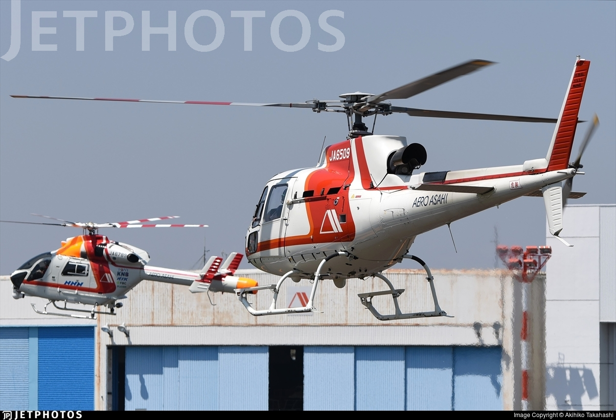 JA6509 - Airbus Helicopters H125 - Aero Asahi