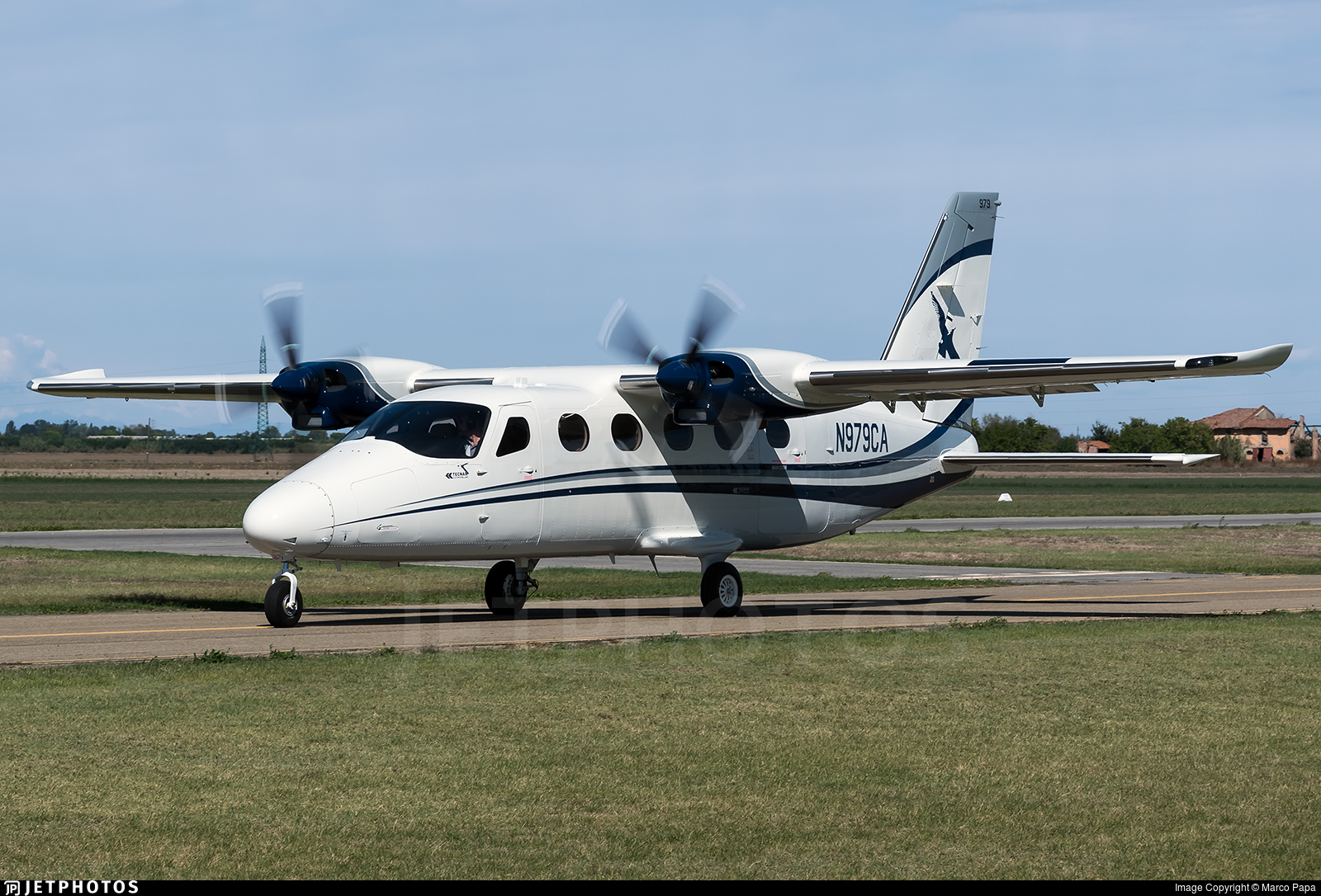N979CA - Tecnam P2012 Traveller - Cape Air