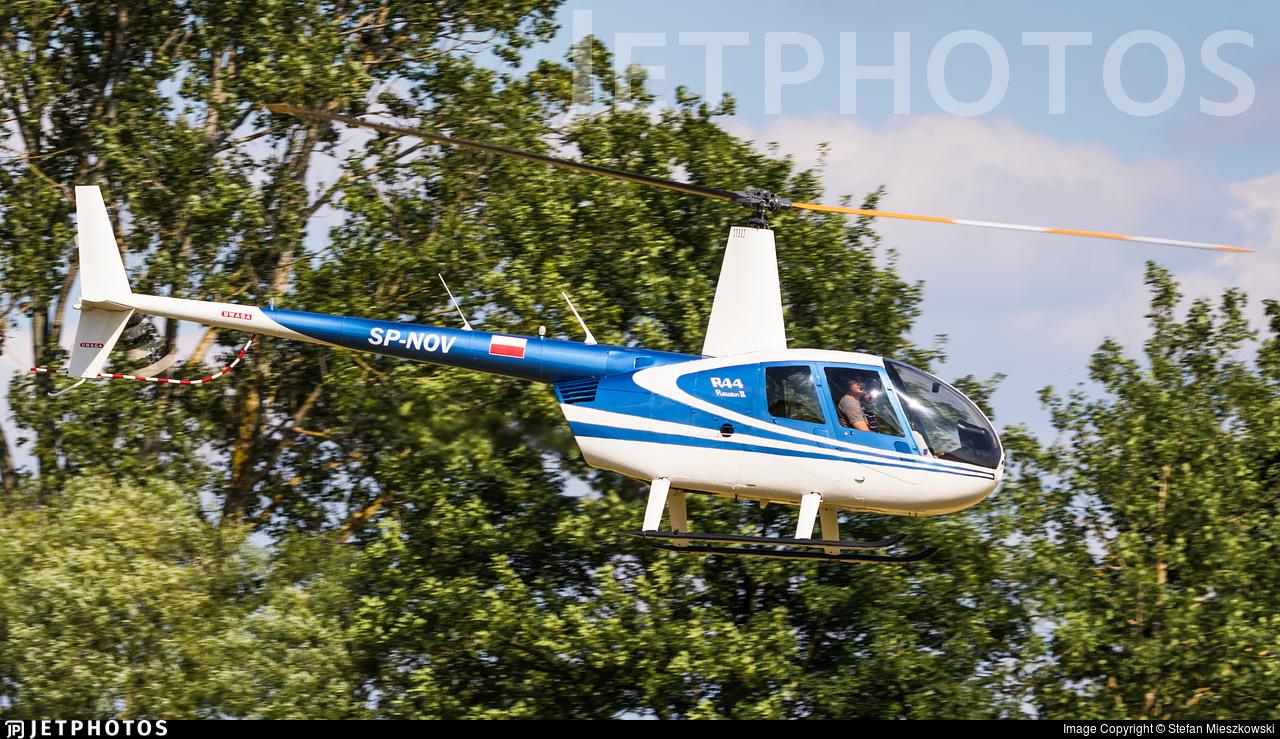 SP-NOV - Robinson R44 Raven II - Private
