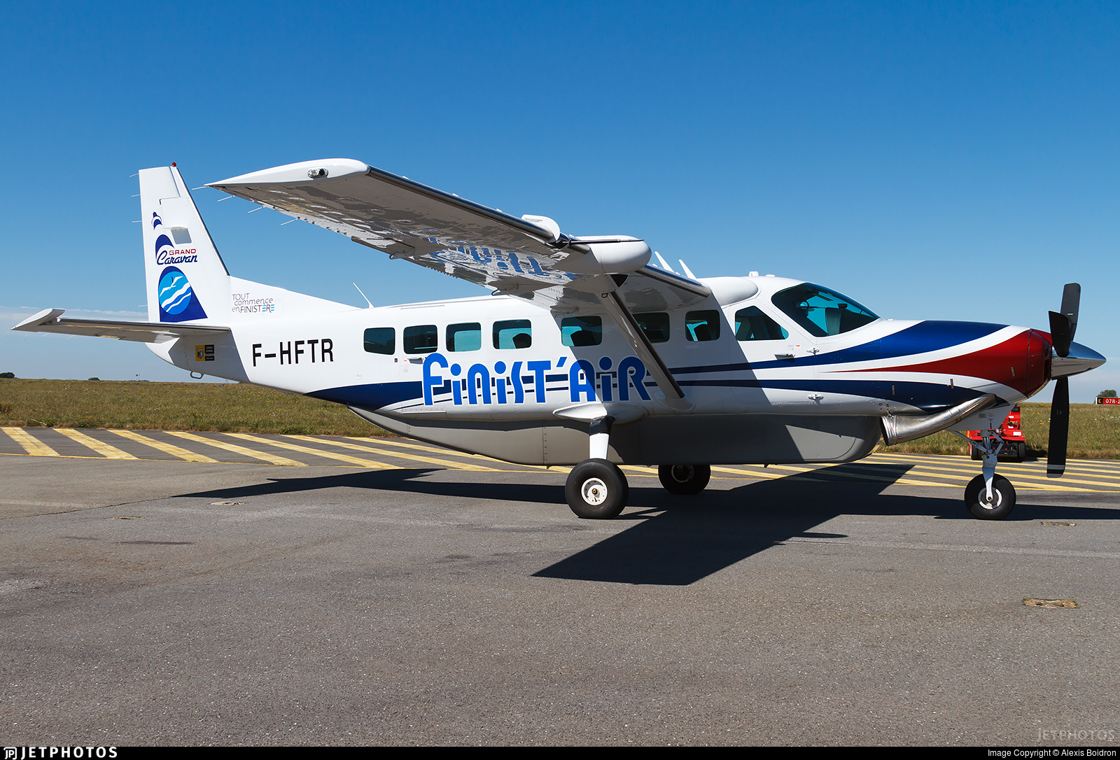 F-HFTR - Cessna 208B Grand Caravan - FinistAir