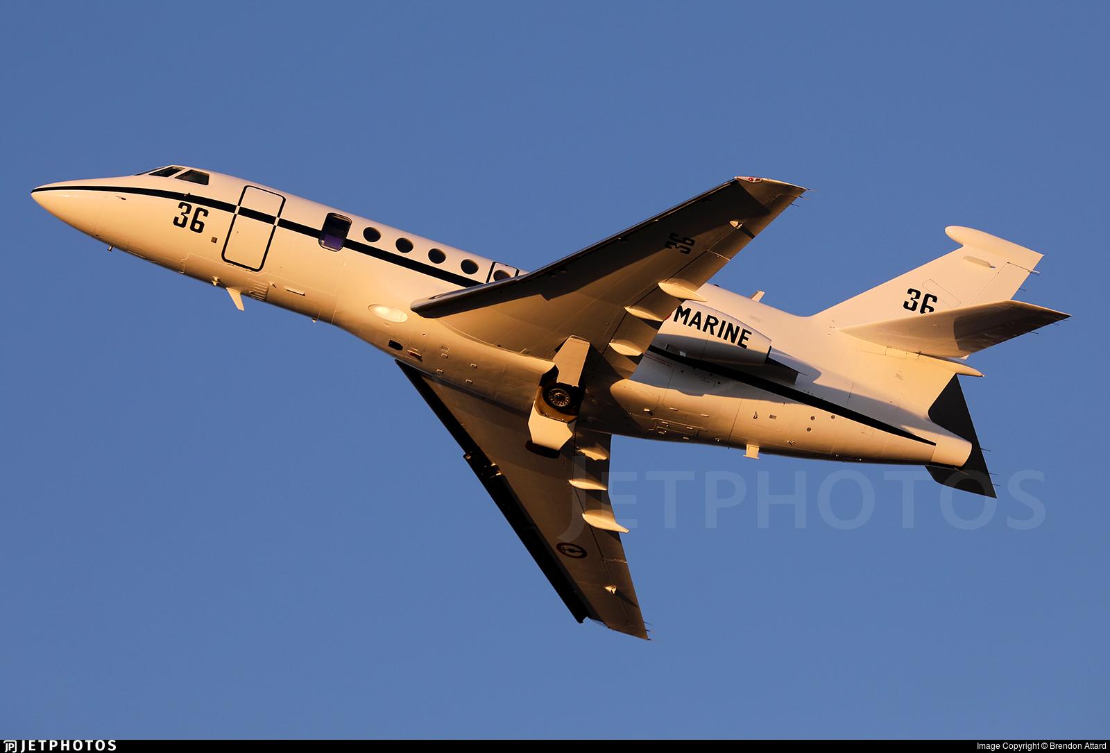 36 - Dassault Falcon 50M - France - Navy