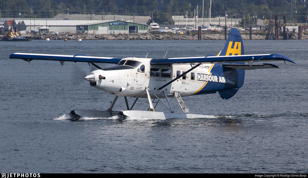 C-FITF - De Havilland Canada DHC-3T Vazar Turbine Otter - Harbour Air
