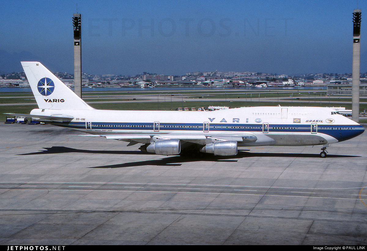 PP-VNI - Boeing 747-341 - Varig