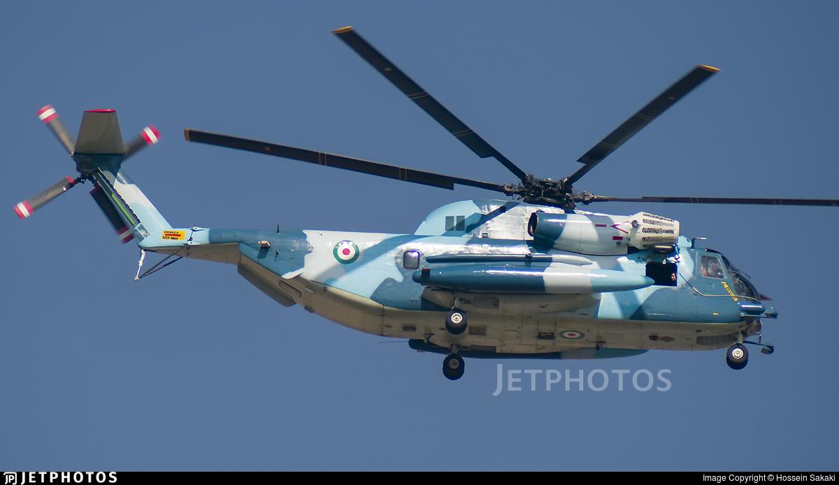 9-2703 - Sikorsky RH-53D Sea Stallion - Iran - Navy