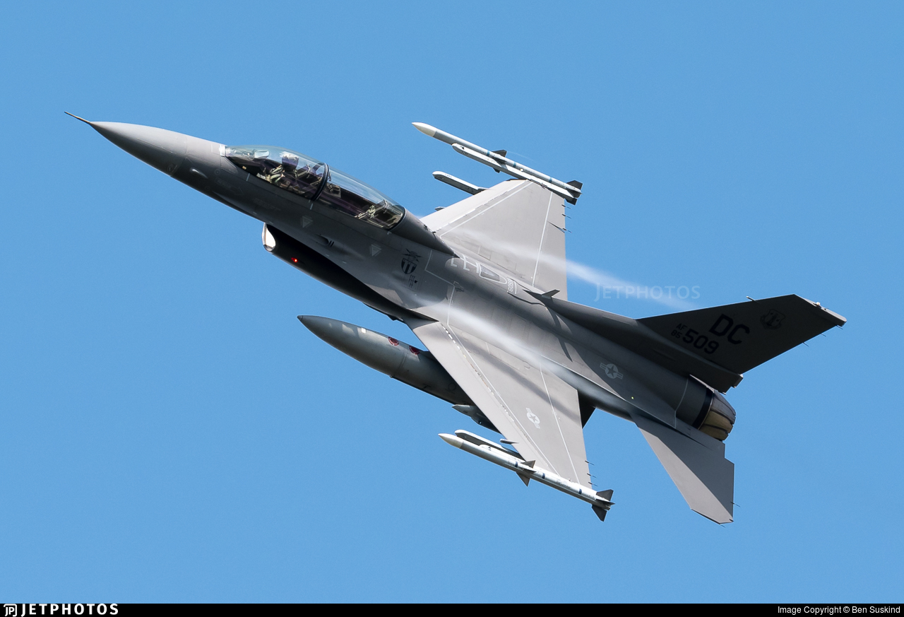 85-1509 - General Dynamics F-16D Fighting Falcon - United States - US Air Force (USAF)