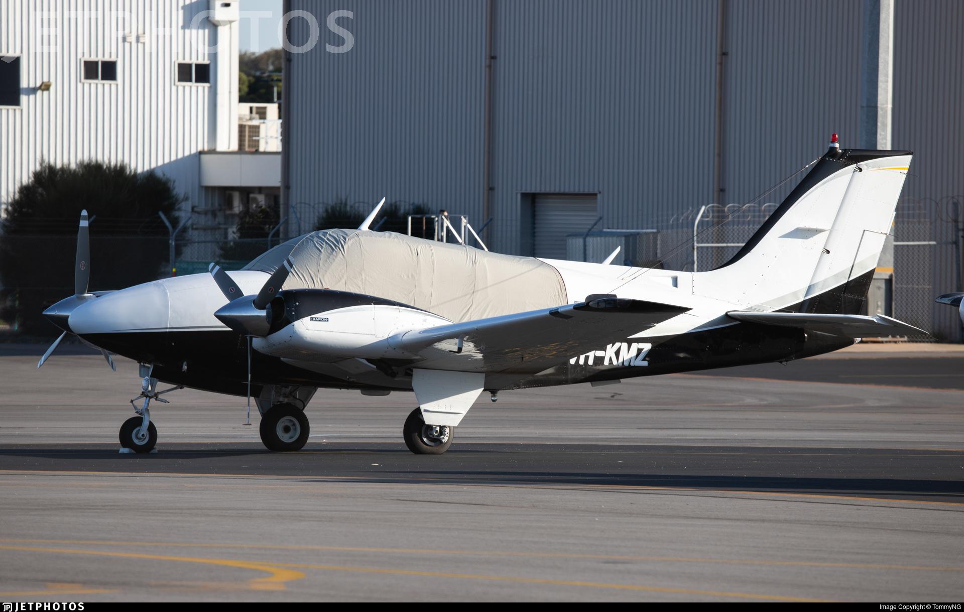 VH-KMZ - Beechcraft 95-B55 Baron - Private